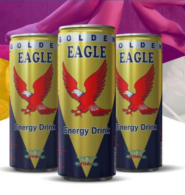 Golden Eagle Energy Drink
